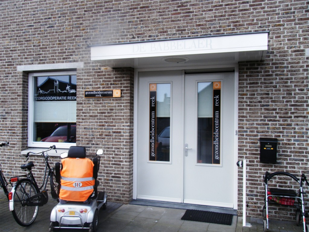 Feestelijke opening de babbelaer zorgco peratie reek - Feestelijke bar ...
